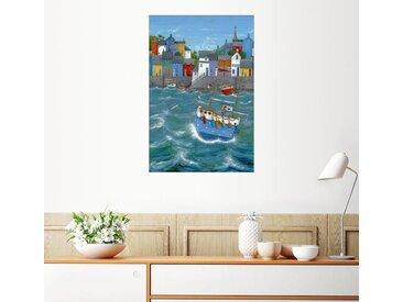 Posterlounge Wandbild, Land in Sicht!, Premium-Poster