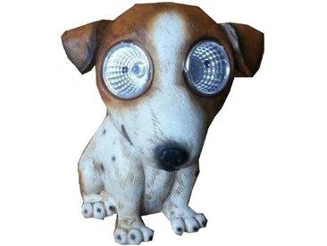 JOKA international Dekoobjekt »Solarleuchte Solar Hund Dekoration Garten Beleuchtung total süss 15555«, Solarleuchte Hund