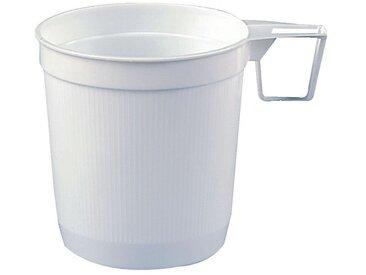 PAPSTAR Einweg-Kaffeetassen 0,25L weiß, weiß, weiß
