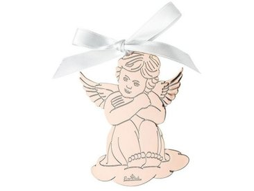 Rosenthal Christbaumschmuck »Silver Collection Angels Rose Gold Engel Anhänger« (1-tlg), Engel sitzend