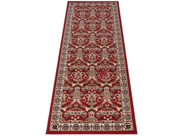 DELAVITA Läufer »Bahri«, rechteckig, Höhe 7 mm, Orient - Dekor, rot, rot