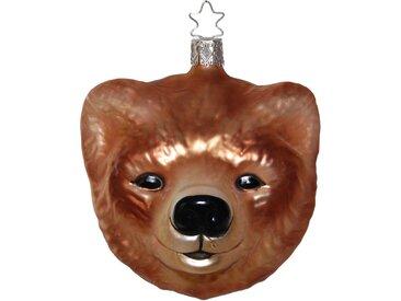 INGE-GLAS® Christbaumschmuck »Bär« (1-tlg), mundgeblasen, handbemalt