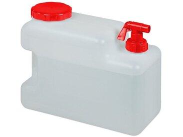 relaxdays Kanister »Wasserkanister mit Hahn«