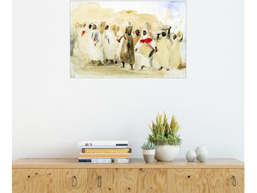 Posterlounge Wandbild, Prozession Musiker in Tanger, Premium-Poster