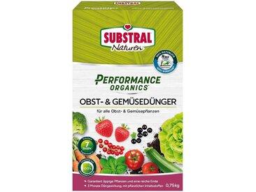 Scotts Substral SUBSTRAL Obst- und Gemüsedünger »Naturen Performance Organics«, 750 g, grün, 7 m², 750 g, grün