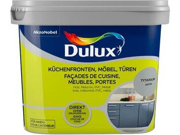 Dulux Holzlack »Fresh Up«, für Küchen, Möbel und Türen, titanium, 0,75 l