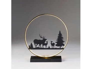 CHRISTMAS GOODS by Inge LED Dekolicht »Silhouette Hirsch«