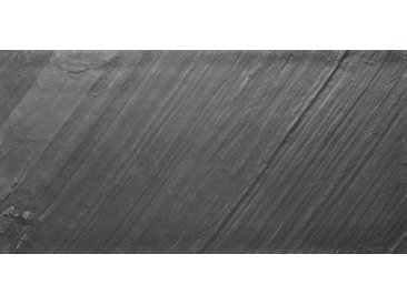 SLATE LITE Dekorpaneele »D.Black«, Naturstein, Stärke 1,5 mm, 122 x 61 cm, schwarz, 122 x 61cm, natur/schwarz