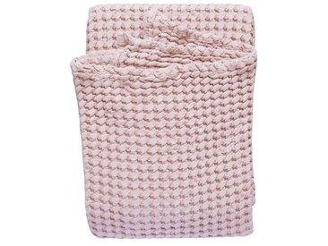 TRAUMSCHLAF Überwurf »Big Waffle«, Tagesdecke mit toller Waffelpikee Struktur, rosa, rosé