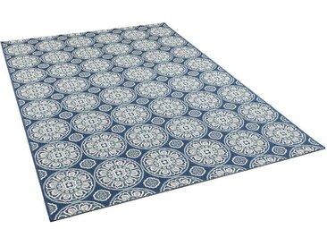 Pergamon Outdoorteppich »In- und Outdoor Teppich Carpetto Kreise«, Höhe 6 mm