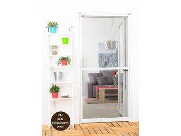 hecht international HECHT Insektenschutz-Tür »Master-Slim«, Bausatz BxH: 120x140 cm, braun, grau, Türen, 120 cm x 240 cm, anthrazit