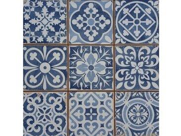 Casa Moro Fliesenaufkleber »Marokkanische Fliesen Rahel Blau Patchwork 33x33 cm, Retrofliesen Keramikfliesen als Wandfliesen & Bodenfliesen, FL2112«
