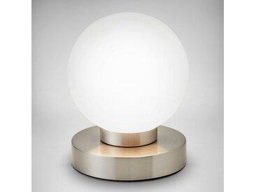 B.K.Licht Tischleuchte, Touch Tisch-Lampe Nachttisch-Lampe Schreibtischlampe Wohnzimmerlampen E14