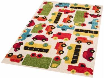 Zala Living Kinderteppich »Cars Mason«, rechteckig, Höhe 8 mm, Spielteppich, besonders weich durch Microfaser