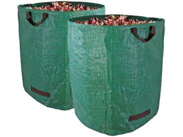 BigDean Gartenbox »Gartenabfallsack XXL−Set 272L groß« (2 Stück), 2 St.