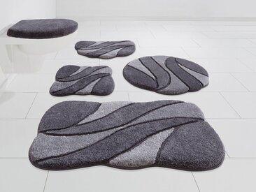 GRUND exklusiv Badematte »Colette« , Höhe 24 mm, rutschhemmend beschichtet, grau, grau