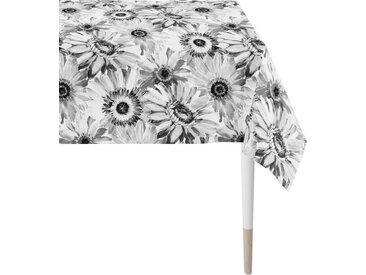 APELT Tischdecke »1700 Summergarden« (1-tlg), Digitaldruck, grau, grau-weiß-schwarz