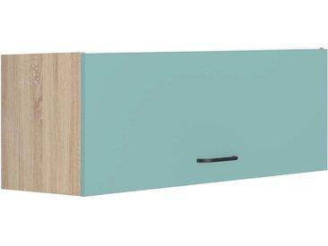 OPTIFIT Klapphängeschrank »Elga«, Breite 90 cm, grün, lichtgrün/eichefarben