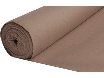 Home Basics Vorhang nach Maß »ESTE«, (1 Stück), Dekostoff mit Struktur zum selber Nähen!, braun, taupe
