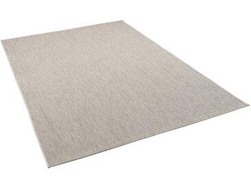 Pergamon Outdoorteppich »In- und Outdoor Teppich Carpetto Mix«, Höhe 6 mm, grau, Grau