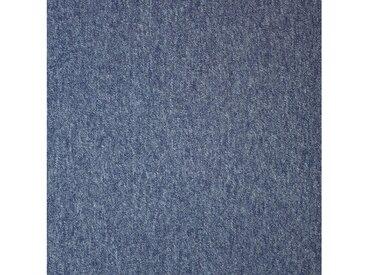 Teppichfliese »Neapel SL Dunkelblau«, 20 Stück (5 m²), blau, dunkelblau