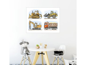 Posterlounge Wandbild, Hugos Baustelle, Premium-Poster