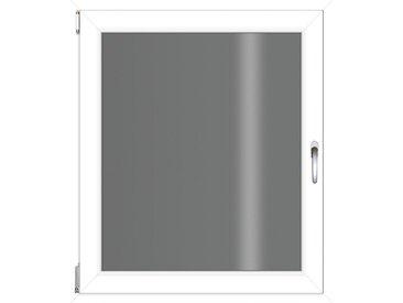RORO Türen & Fenster RORO TÜREN & FENSTER Kunststoff-Fenster BxH: 75x90 cm, ohne Griff, weiß, links, weiß