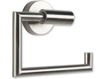SOSmart24 Toilettenpapierhalter » JUST SILVER Toilettenpapierhalter ohne Bohren Edelstahl - Silber Matt gebürstet - NORDIC MINIMALISM - Klopapierhalter Papier Halterung Klorollenhalter Rollenhalter Toilettenrollenhalter«