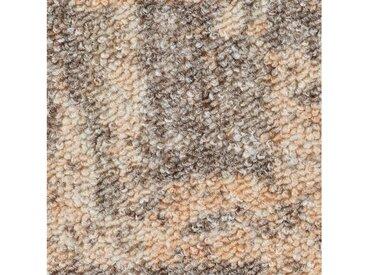 Bodenmeister BODENMEISTER Teppichboden »Schlinge gemustert«, Meterware, Breite 200/300/400/500 cm, braun, beige/orange