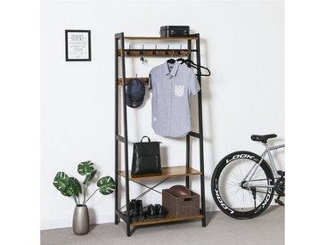 VASAGLE Garderobenständer »LGR13BX«, Kleiderständer im Industrie-Design, vintage
