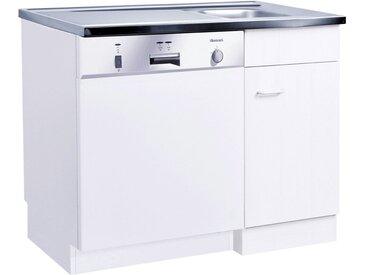 HELD MÖBEL Spülenschrank »Elster« 100/60 cm, weiß, weiß