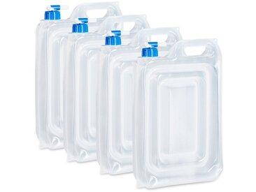 relaxdays Kanister »Wasserkanister Camping 4er Set, BPA frei«