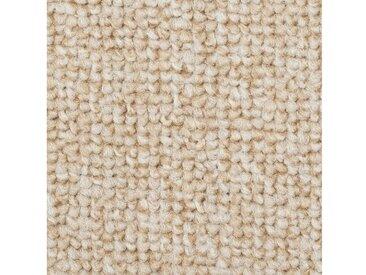 Bodenmeister BODENMEISTER Teppichboden »Schlinge Büro«, Meterware, Breite 400/500 cm, natur, cremefarben/weiß