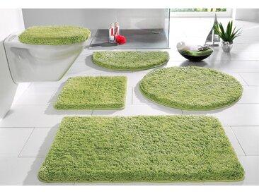 my home Badematte »Sanremo« , Höhe 30 mm, Besonders weich durch Microfaser, grün, grün