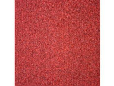 Teppichfliese »Madison rot«, 20 Stück (5 m²), selbstliegend, rot, rot