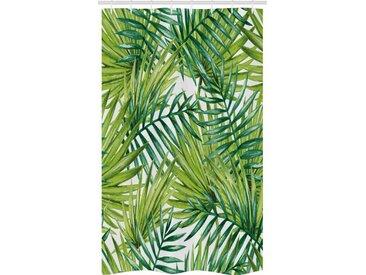Abakuhaus Duschvorhang »Badezimmer Deko Set aus Stoff mit Haken« Breite 120 cm, Höhe 180 cm, Pflanze Bunte Illustration Natürliche