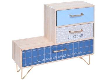 Home & styling collection Schatzkiste, blau, blau