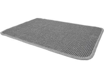 Primaflor-Ideen in Textil Sisalteppich »SISALLUX«, rechteckig, Höhe 6 mm, Obermaterial: 100% Sisal, Wohnzimmer, grau, grau