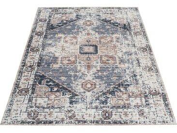 Home affaire Teppich »Aniela«, rechteckig, Höhe 10 mm, Baumwollteppich