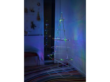 KONSTSMIDE Micro LED Lichterkette, grün, 50 LEDs, Lichtquelle bunt, Grün