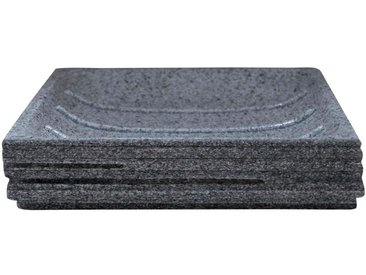 RIDDER Seifenschale »Brick«, quadratisch, grau, grau