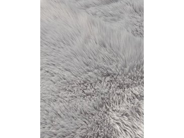 heine home Teppich Synthetik Lammfell, grau, grau