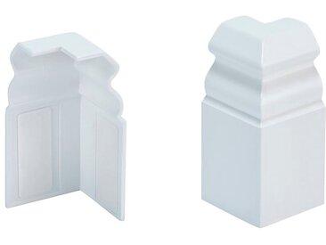 MODERNA Außenecke »HSL 60 Weiß«, selbstklebend, weiß, weiß
