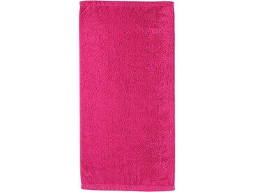 Cawö Badetuch »Lifestyle Uni« (1-St), aus 100% Baumwolle, rosa, pink