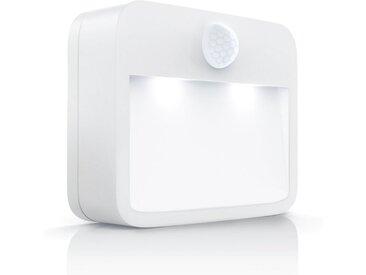 Brandson Nachtleuchte mit Bewegungsmelder & Helligkeitssensor »Batteriebetriebene LED Nachtlampe«, weiß, 1x LED Nachtlicht