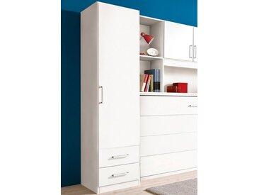 rauch ORANGE Kleiderschrank »Albero«, weiß, Türen: 1, weiß uni