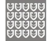 Good Life T-Gleiter »Teve«, T-Schienen, (Packung, 20-St), für T-Schienen, weiß