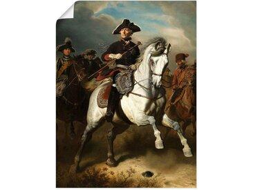 Artland Wandbild »Friedrich der Große zu Pferde. 1861«, Menschen (1 Stück), Poster