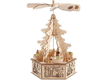Home affaire Weihnachtspyramide, LED-Beleuchtung im Sockel