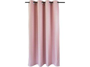 Kutti Vorhang »Dimout«, Ösen (1 Stück), Vorhang Dimout, rosa, rose